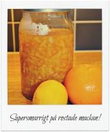 Microlagad apelsinmarmelad