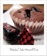 Muffins med med lakritskola
