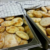 Pitabröd med dinkelsikt