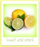 Citron och Limesherbet